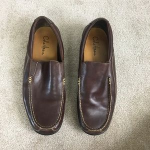 Cole Haan dark brown driving shoes-13W